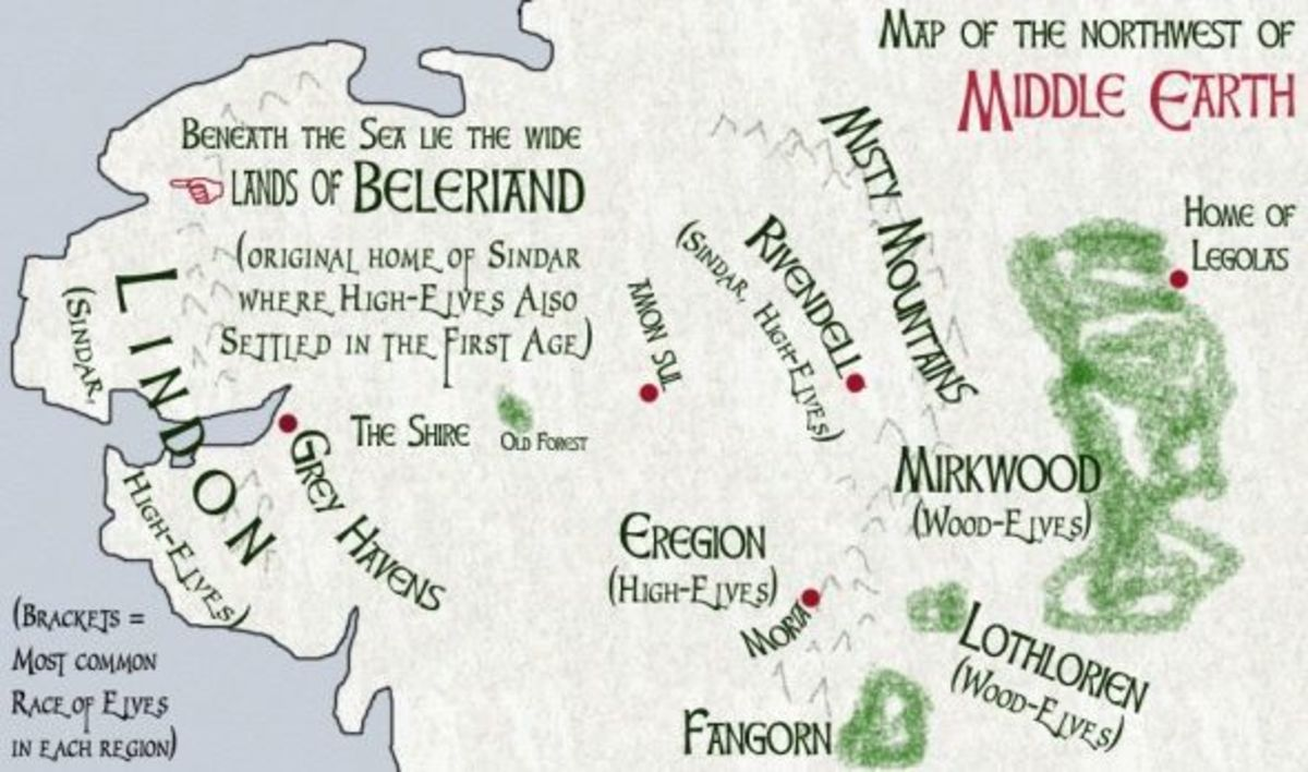 Did Maps In Middle Earth Have West: Legolas Of Mirkwood: Prince Among Equals