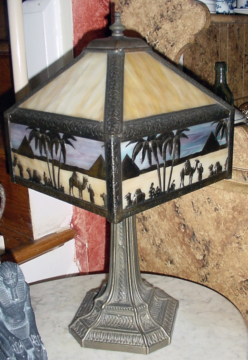 This lamp may look old, but it is not.
