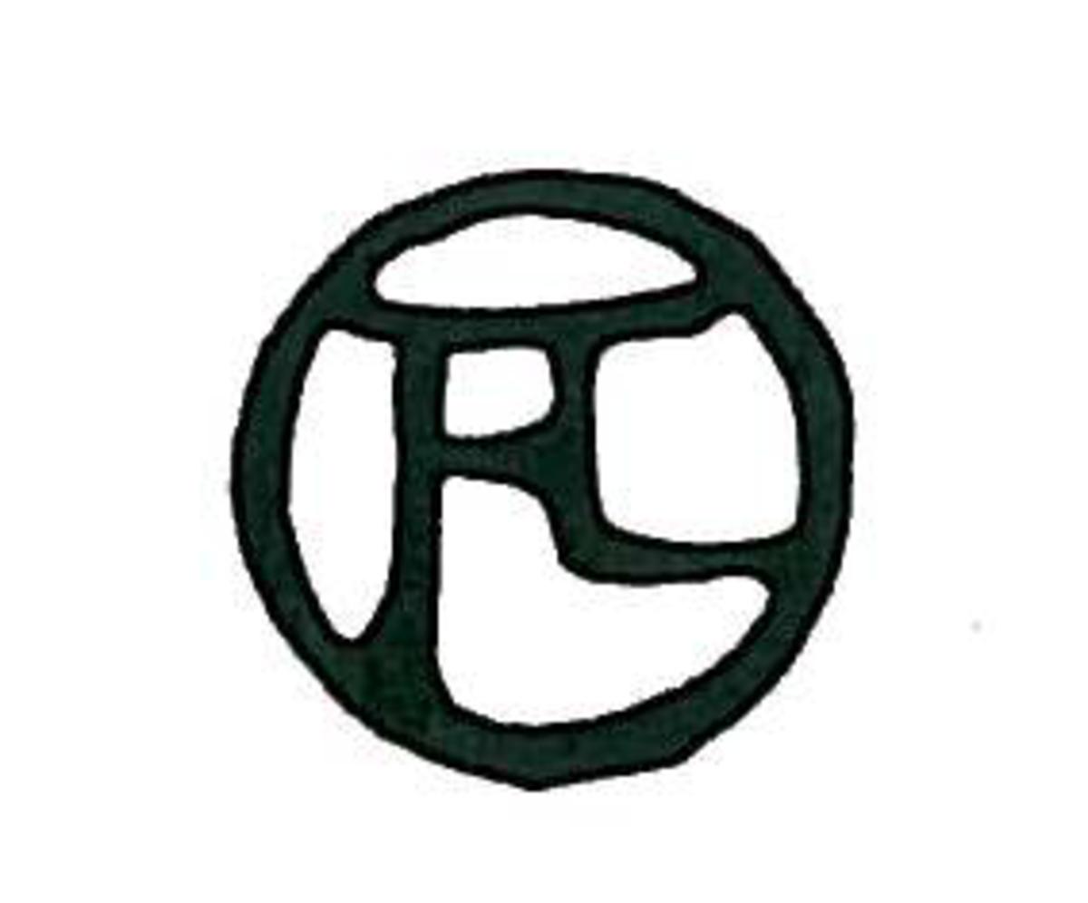 Henri Toulouse-Lautrec's monogram. Courtesy of Wiki Commons