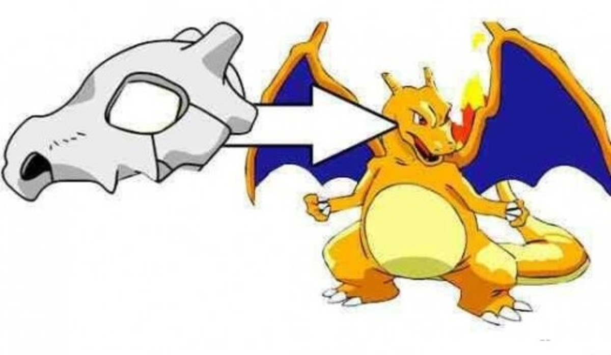 Are Charizard and Cubone related?