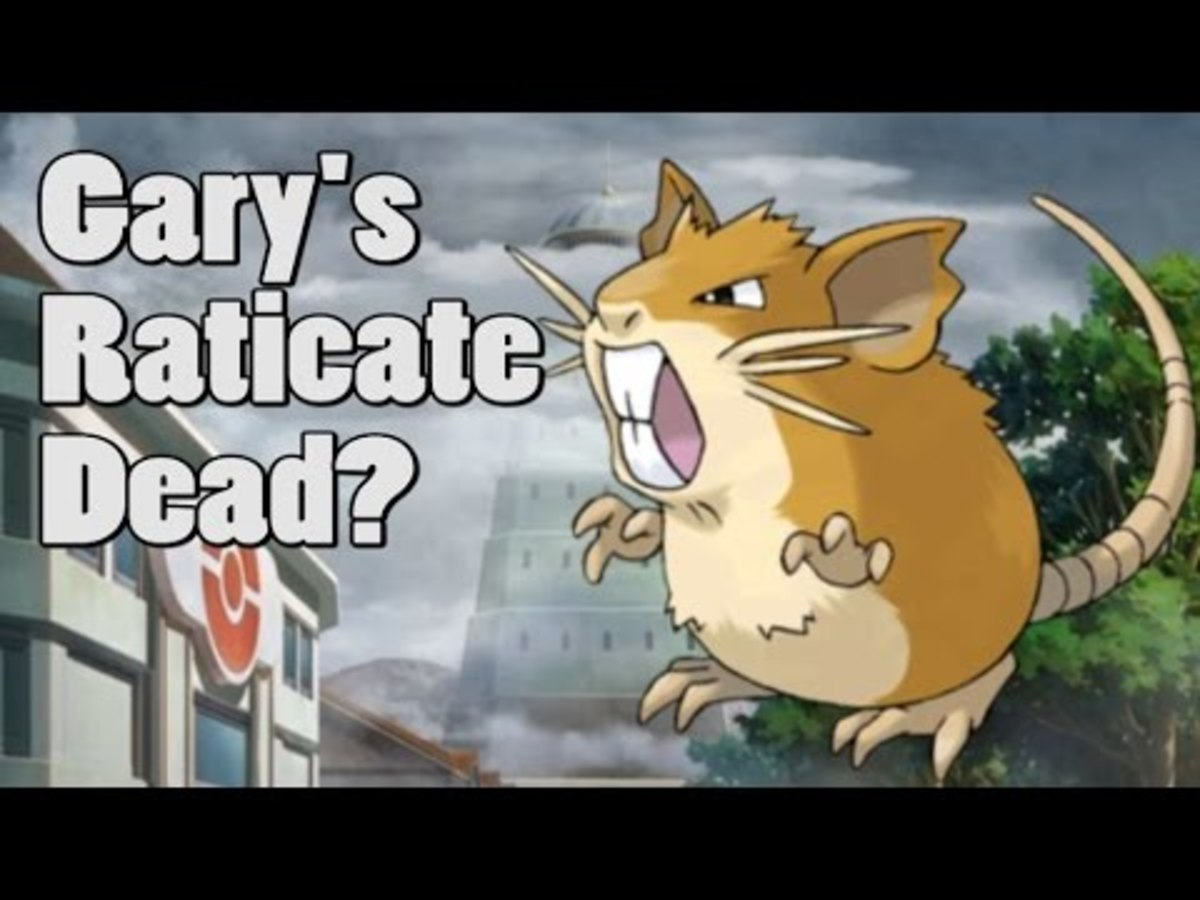 Is Blue's Raticate dead?