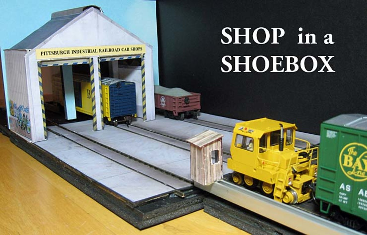 An example of a shoe-box sized layout.