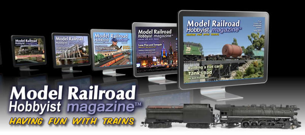 Online magazine for model trains.
