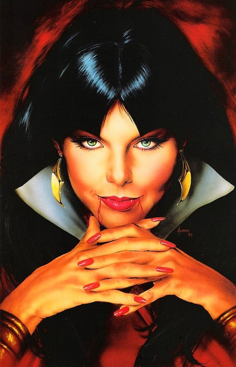 Vampirella by Joe Jusko