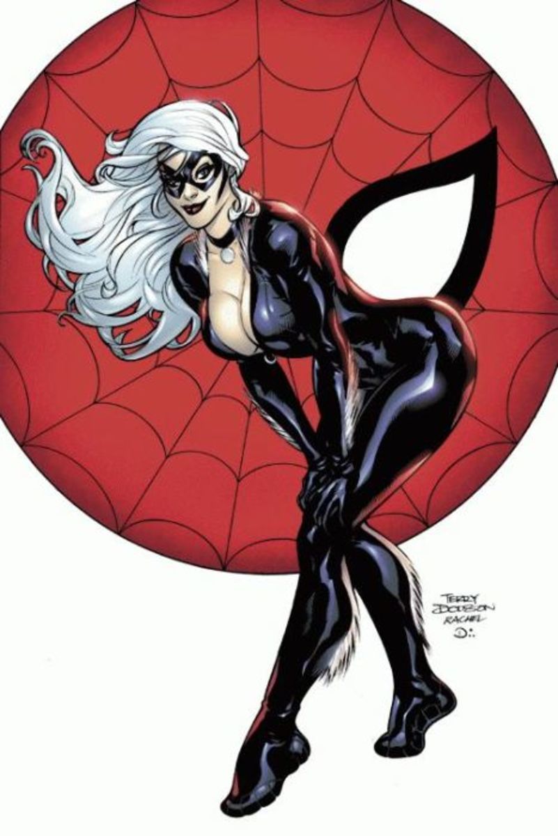 Black Cat by Terry Dodson