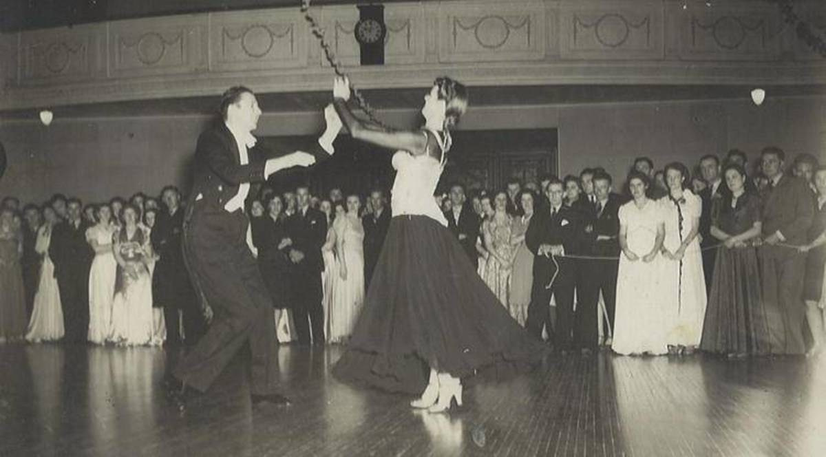Lead and Follow has always been the secret of good ballroom dancing!