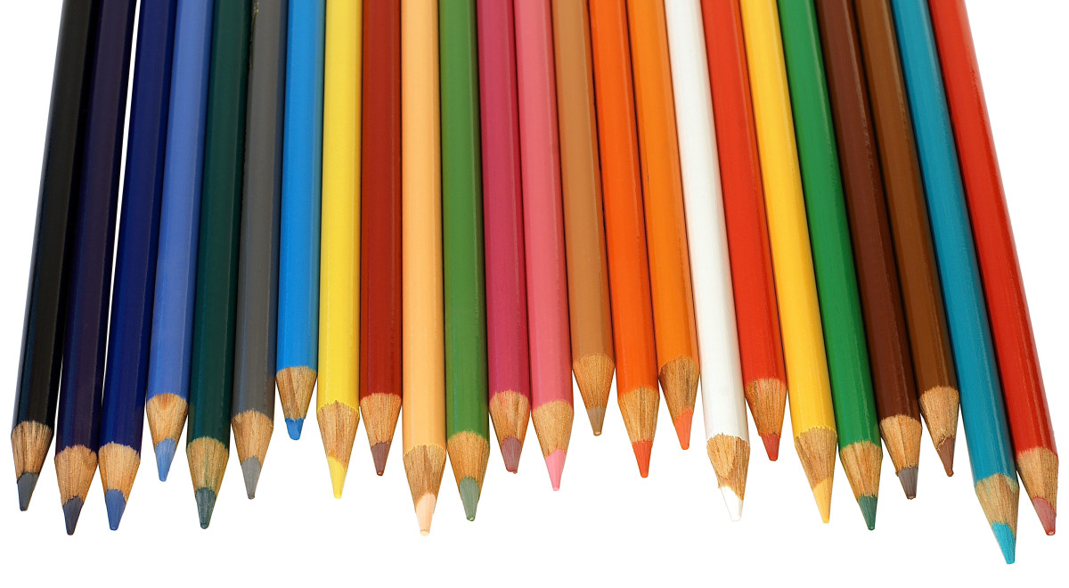 Make rough sketches with a pencil or with colored pencils to help generate ideas.