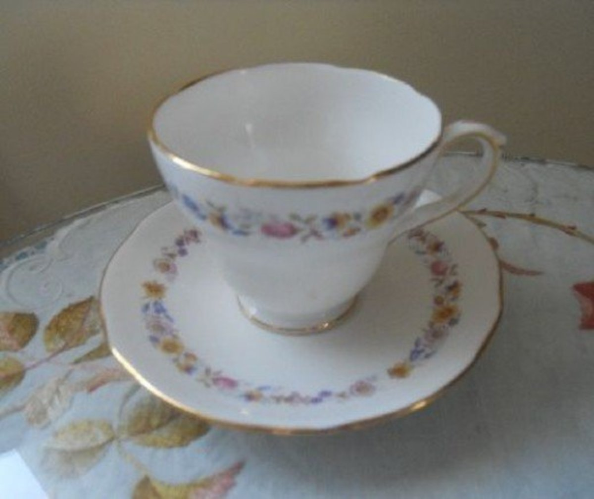 Duchess Meadowsweet teacup