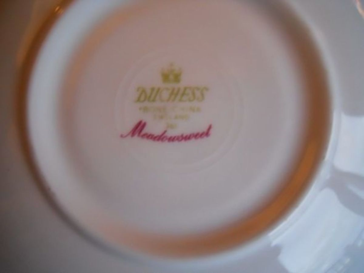 Duchess Meadowsweet. Fairly easy to find on online auctions.