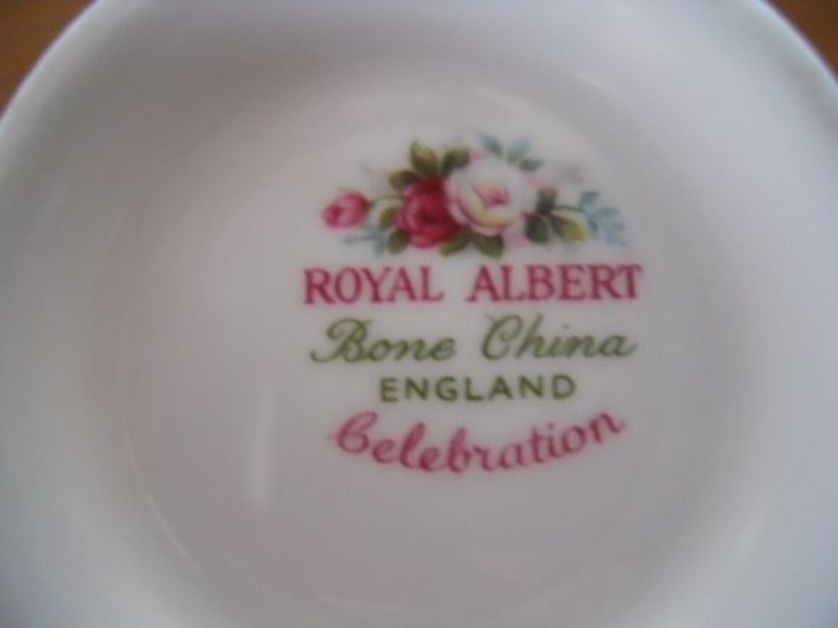 "This is the Royal Albert ""Celebration"" porcelain mark."