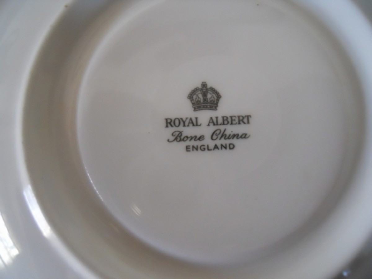 Royal Albert has used numerous porcelain marks over the years.