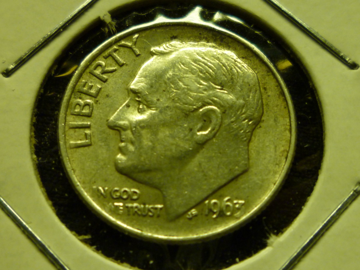 Value of Roosevelt Dimes. Pictured above is 1963 Silver Dime