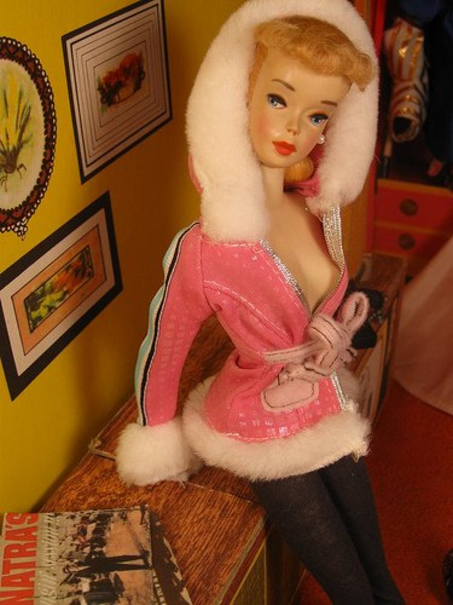 Vintage Snow Bunny Barbie