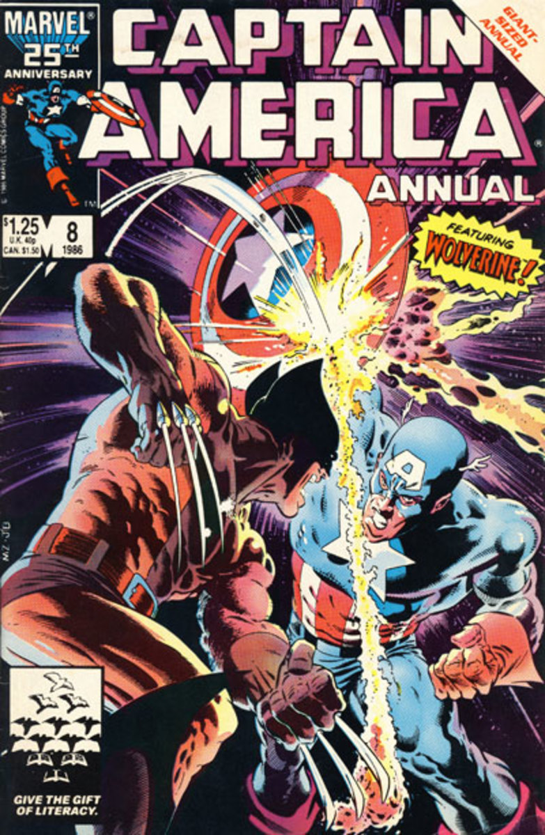 Sparks fly when everyone's favorite adamantium laced mutant goes toe-to-toe with America's super soldier!