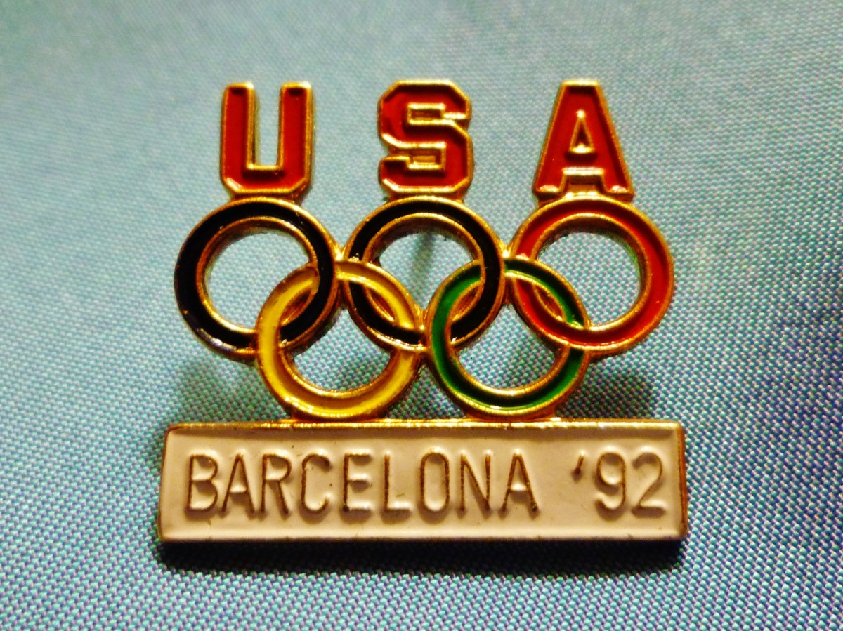 USA Olympic pin 1992