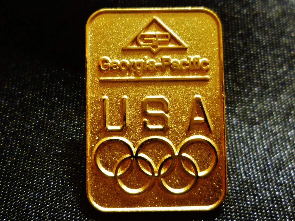Georgia-Pacific Olympic Pin