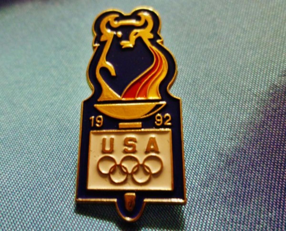 Merrill Lynch Olympic sponsor pin from 1992