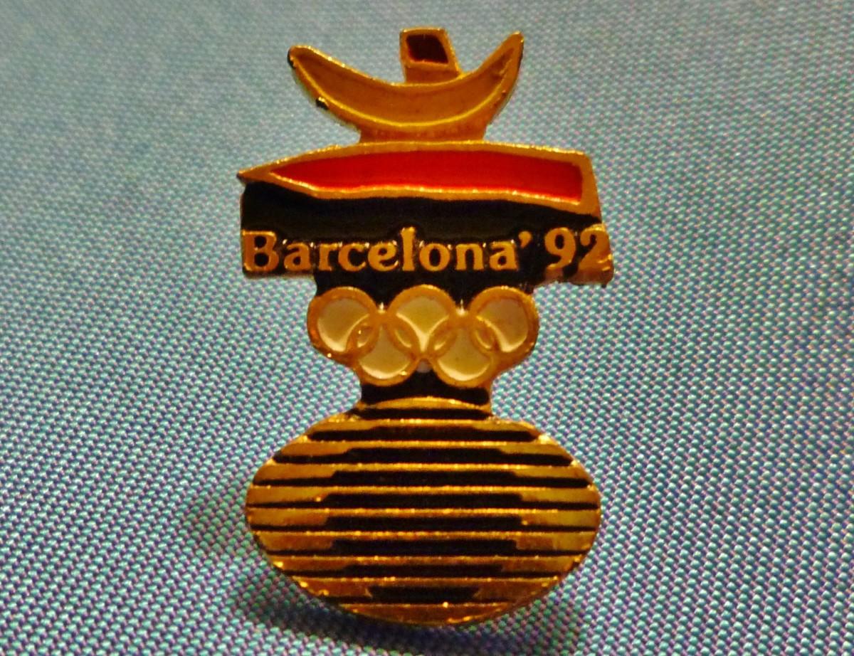 Barcelona '92 Olympic pin