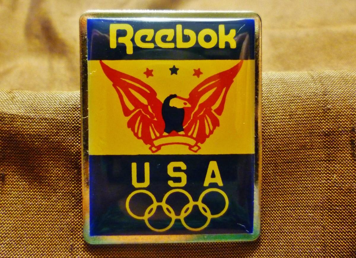 Reebok sponsor pin