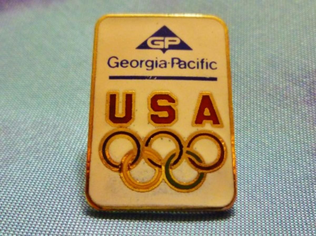 Georgia-Pacific Olympic Pin