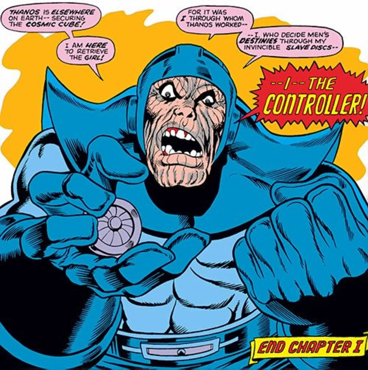 The Controller (Basil Sandhurst) drawn by Jim Starlin
