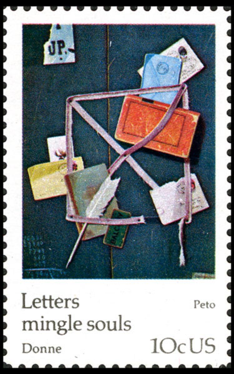 """John Frederick Peto, """"Old Time Letter Rack"""""""