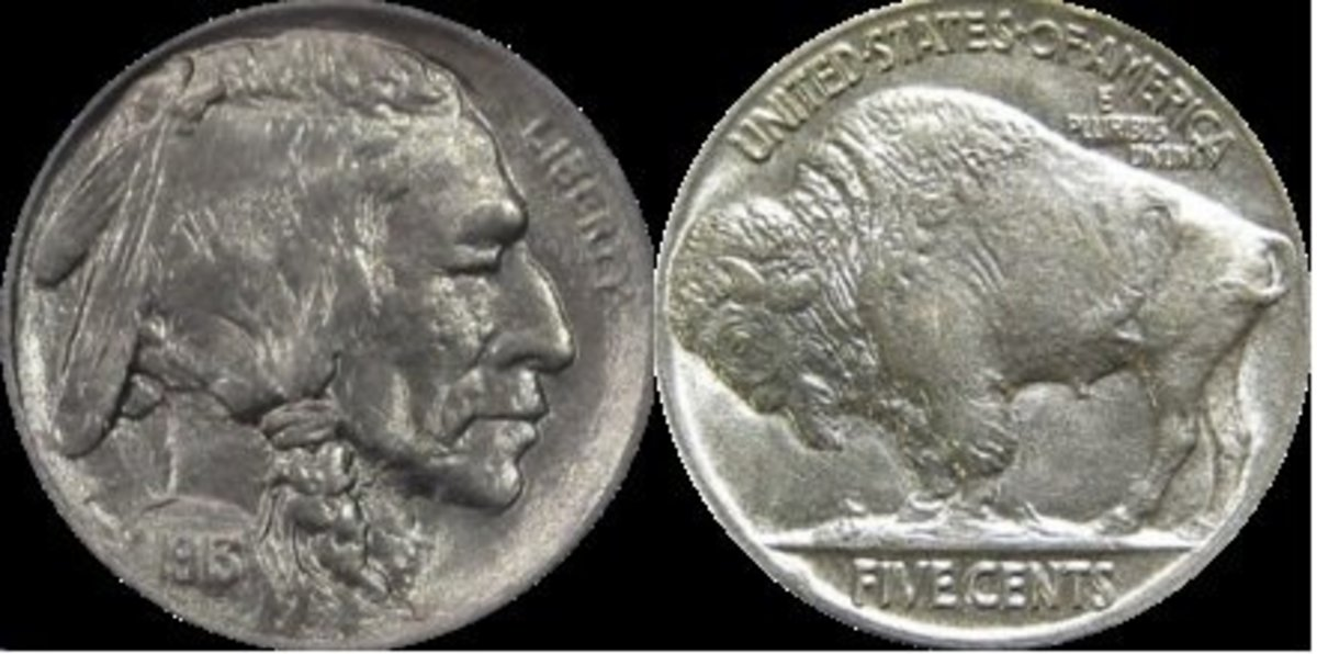 The Buffalo Nickel design of James Earle Fraser.