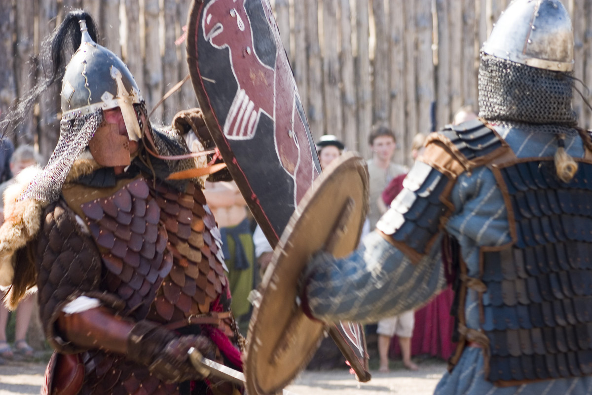 The Anglo-Saxons invaded Britain in 449 AD.
