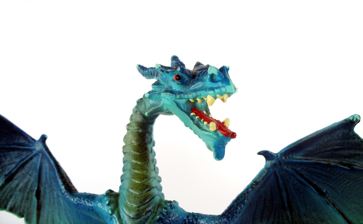 The dragon was an important symbol for the Anglo-Saxons.