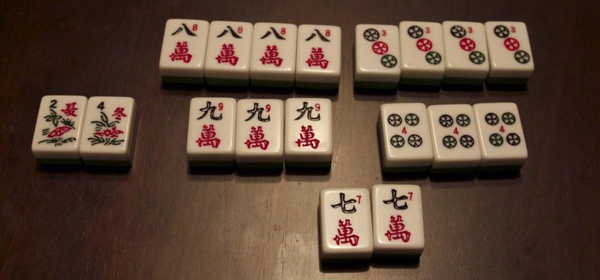 Simple Mahjong Rules for 3 or 4 Players | HobbyLark