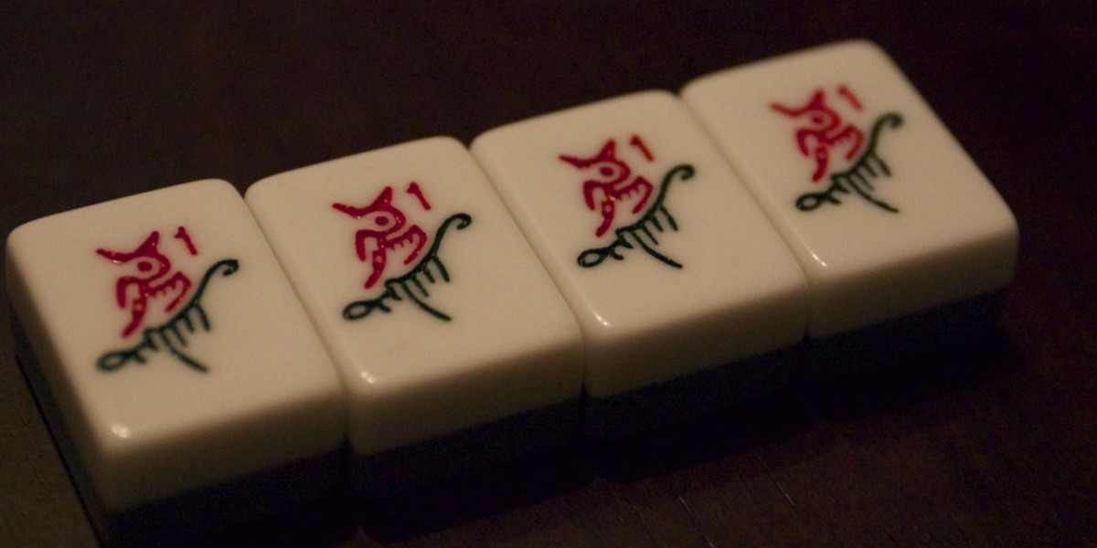 A mahjong khan - four of a kind.