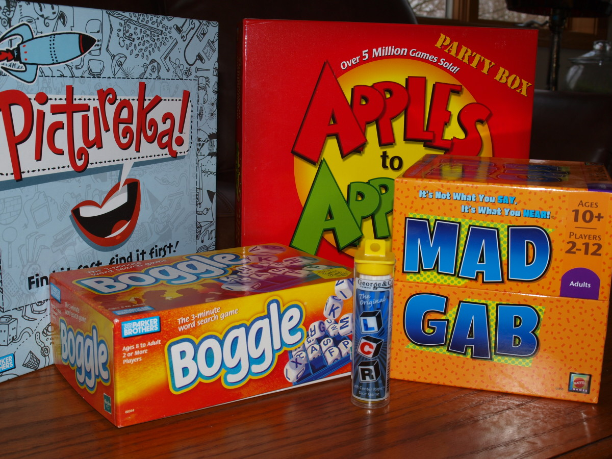 Great Game Night Party Games