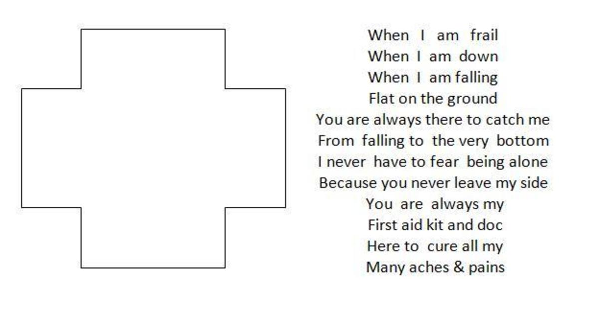 example of shape poetry