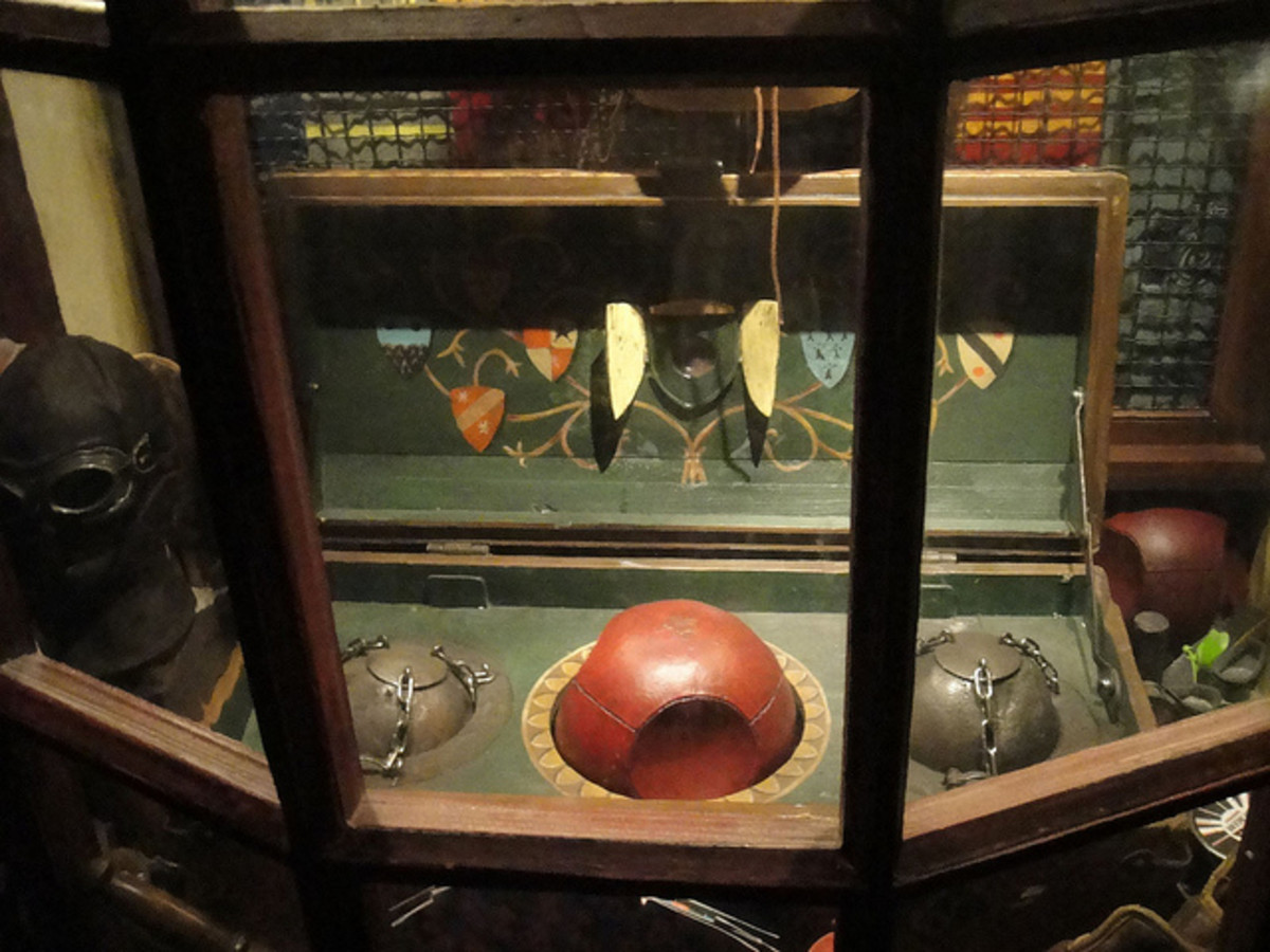 Quidditch gear from the movie adaptations of the Harry Potter novels.