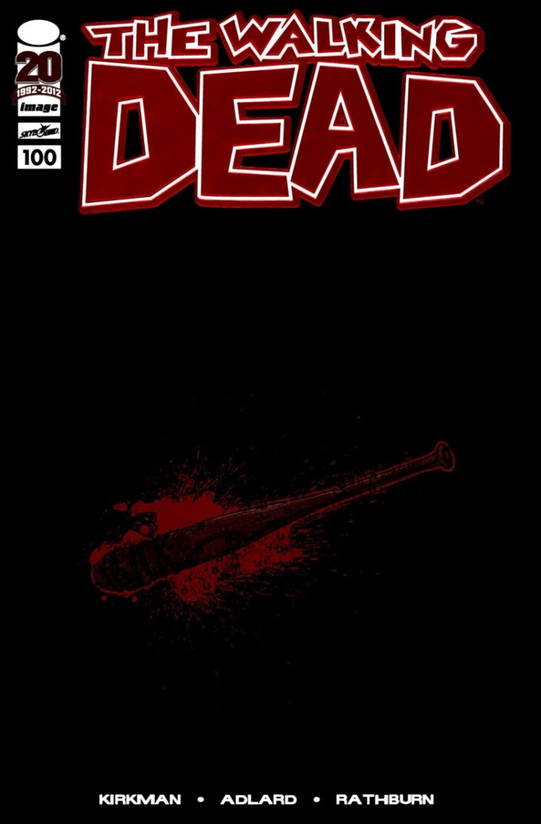 Walking Dead #100 Red Foil Skybound Edition