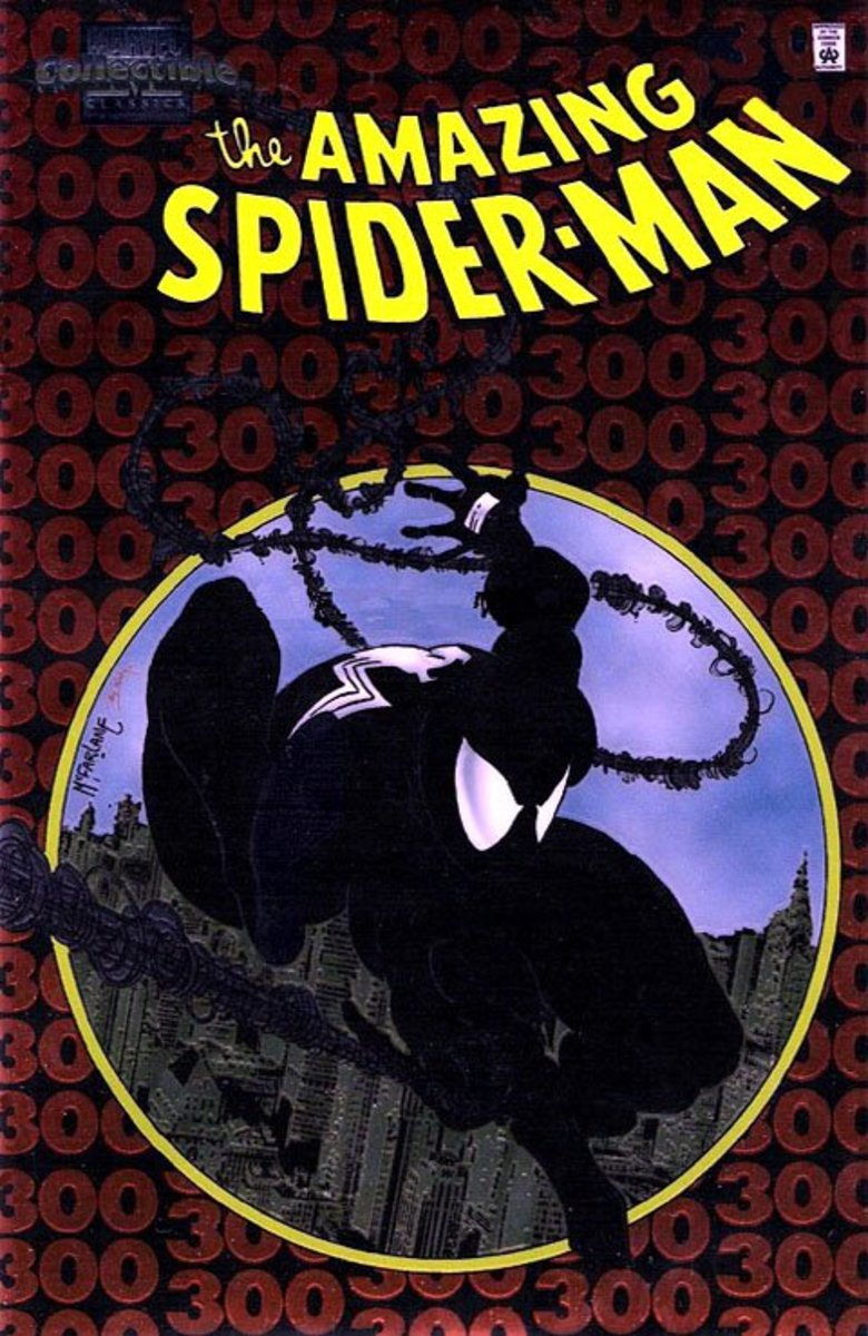 Marvel Collectibles Classic Amazing Spider-Man #300 Chromium reprint