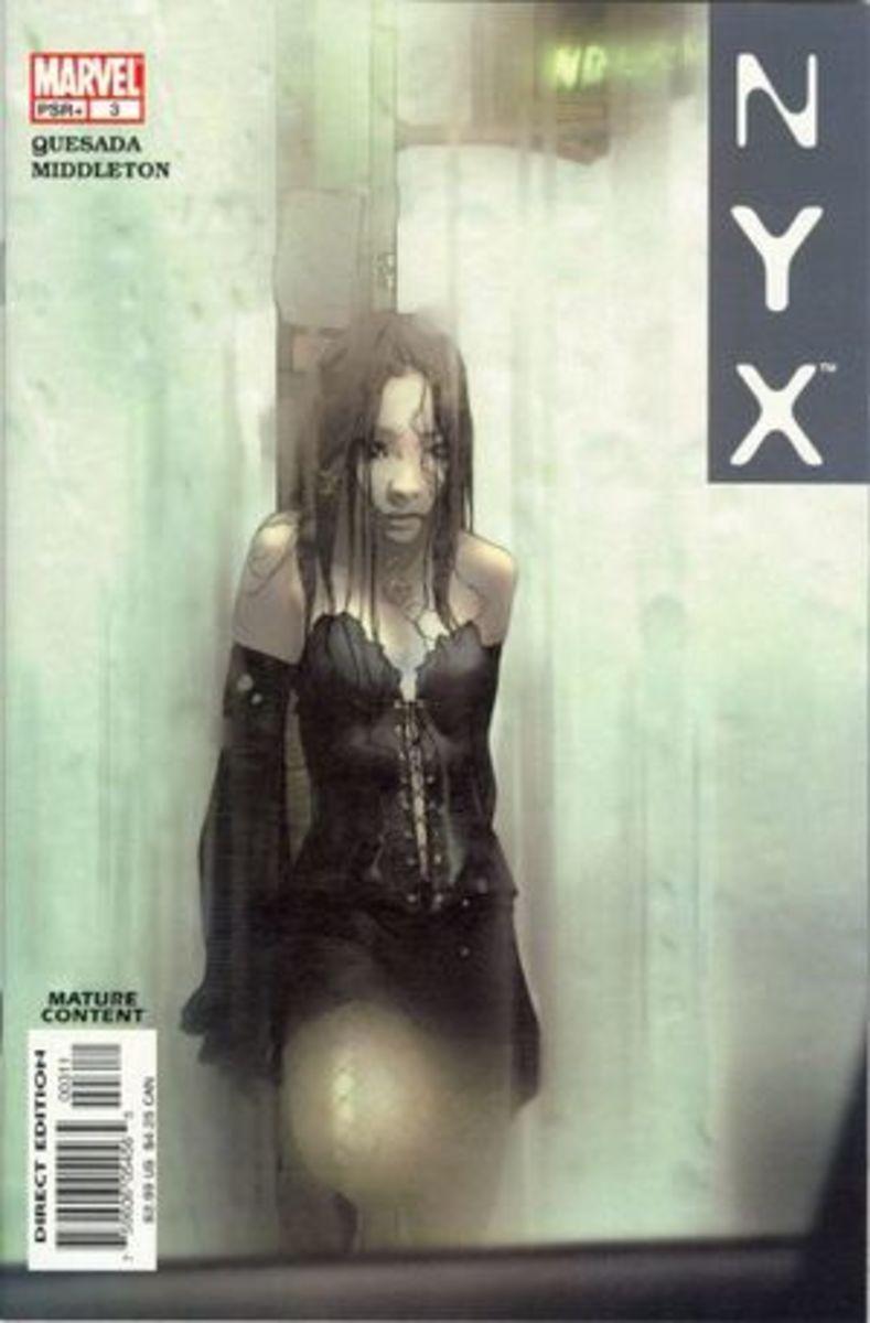 NYX #3 1st appearance of X-23 (Laura Kinney)