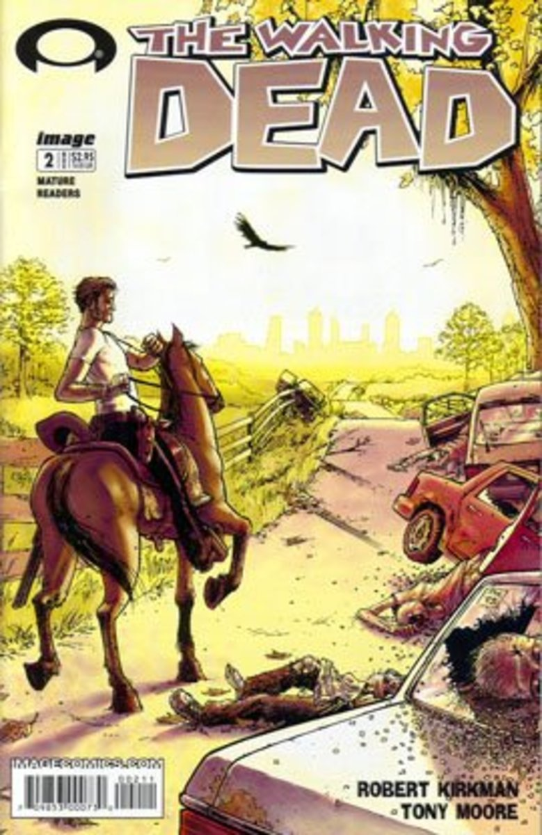 The Walking Dead #2 - First appearance of Lori Grimes, Carl Grimes, and Glenn