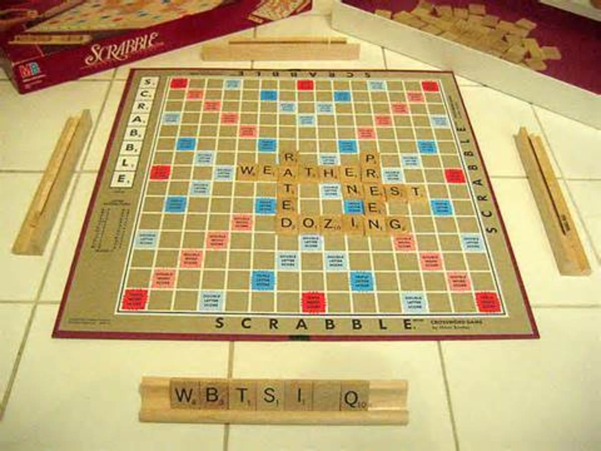 How to play Scrabble board game