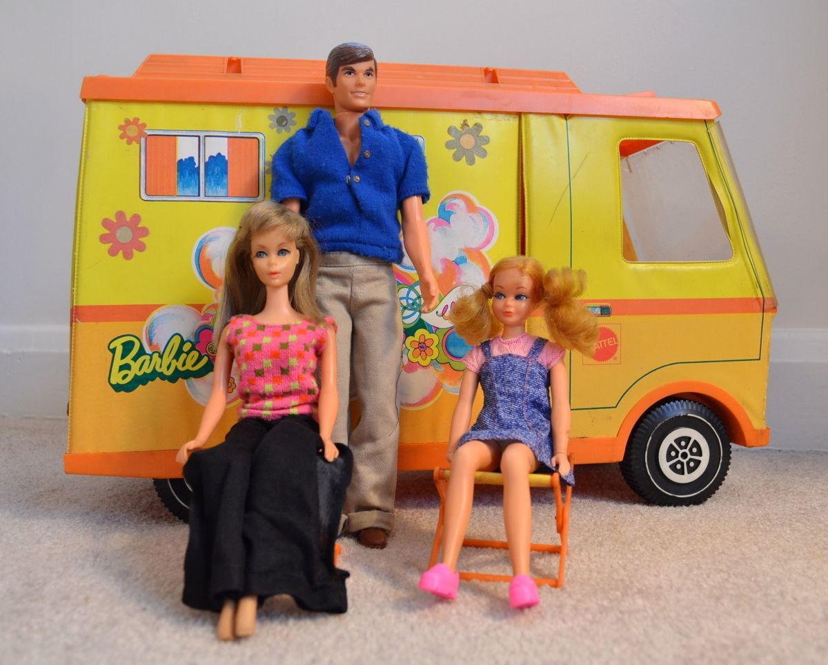 When I outgrew my baby dolls, they were replaced with Barbies and other action figure dolls.