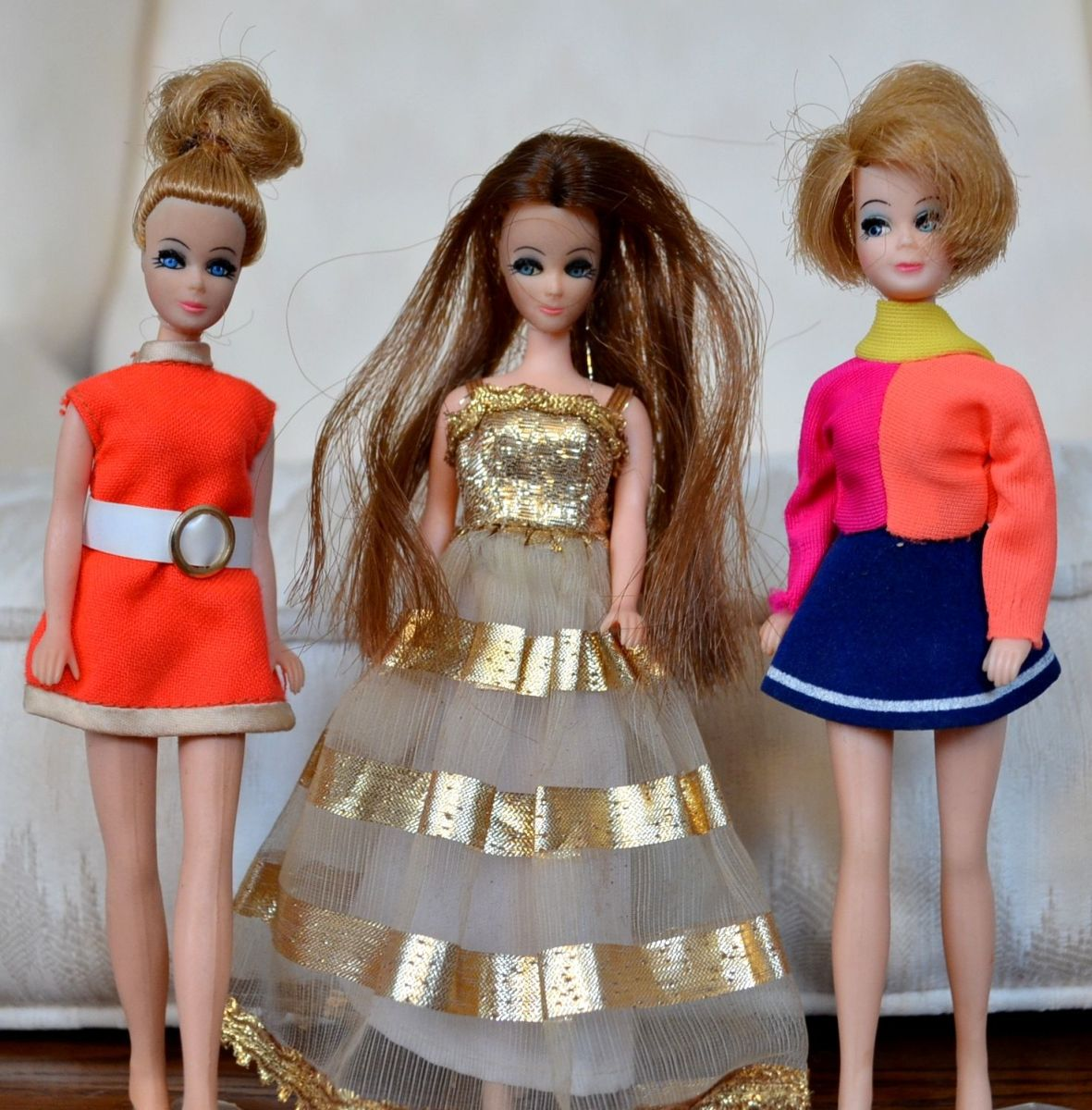 Dawn dolls by Topper.