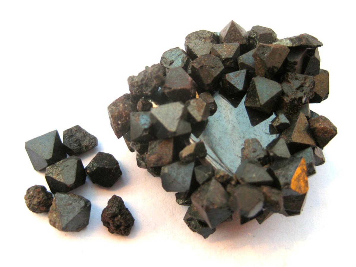 Magnetite off hematite.