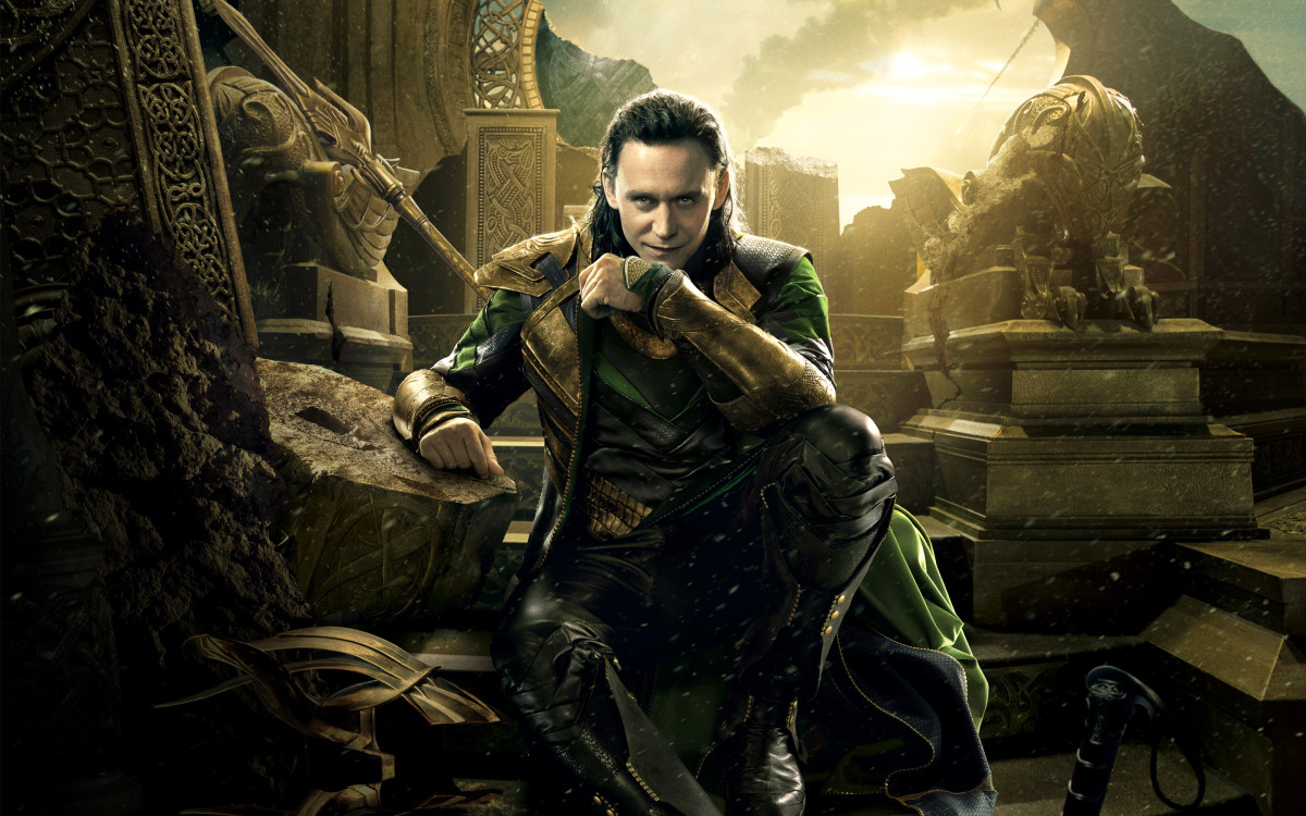 "Loki as depicted in ""Thor: The Dark World"""