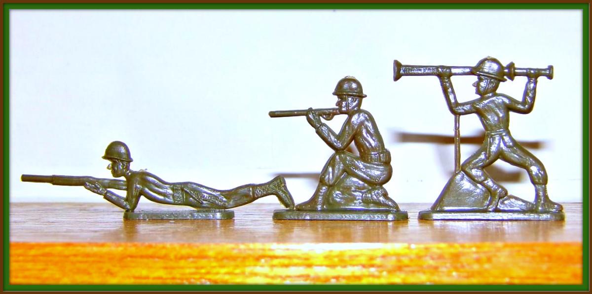 A bazooka man ready for the kill.