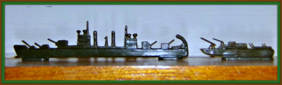 This set comes with a huge flotilla with Battle Ships and a Destroyers are part of this remarkable sets ready for battle navy.