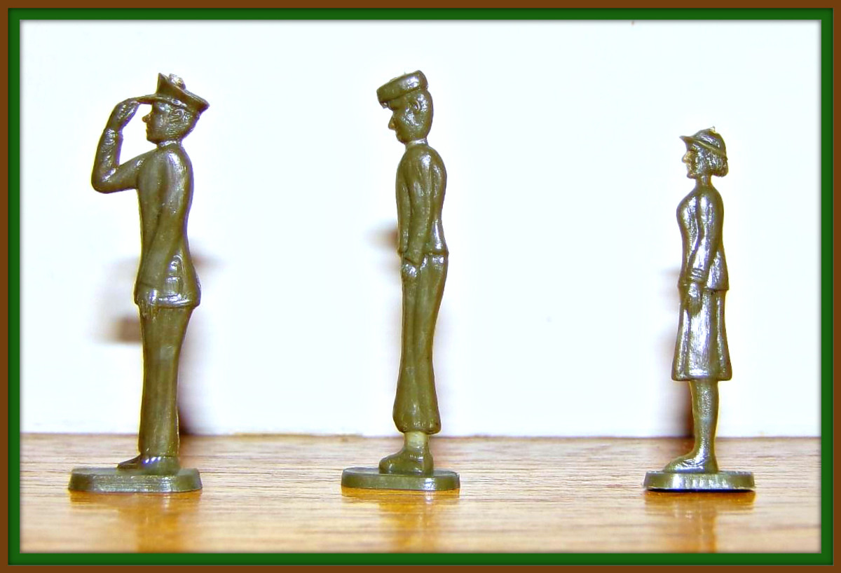 All branches of the military were represented in the set.