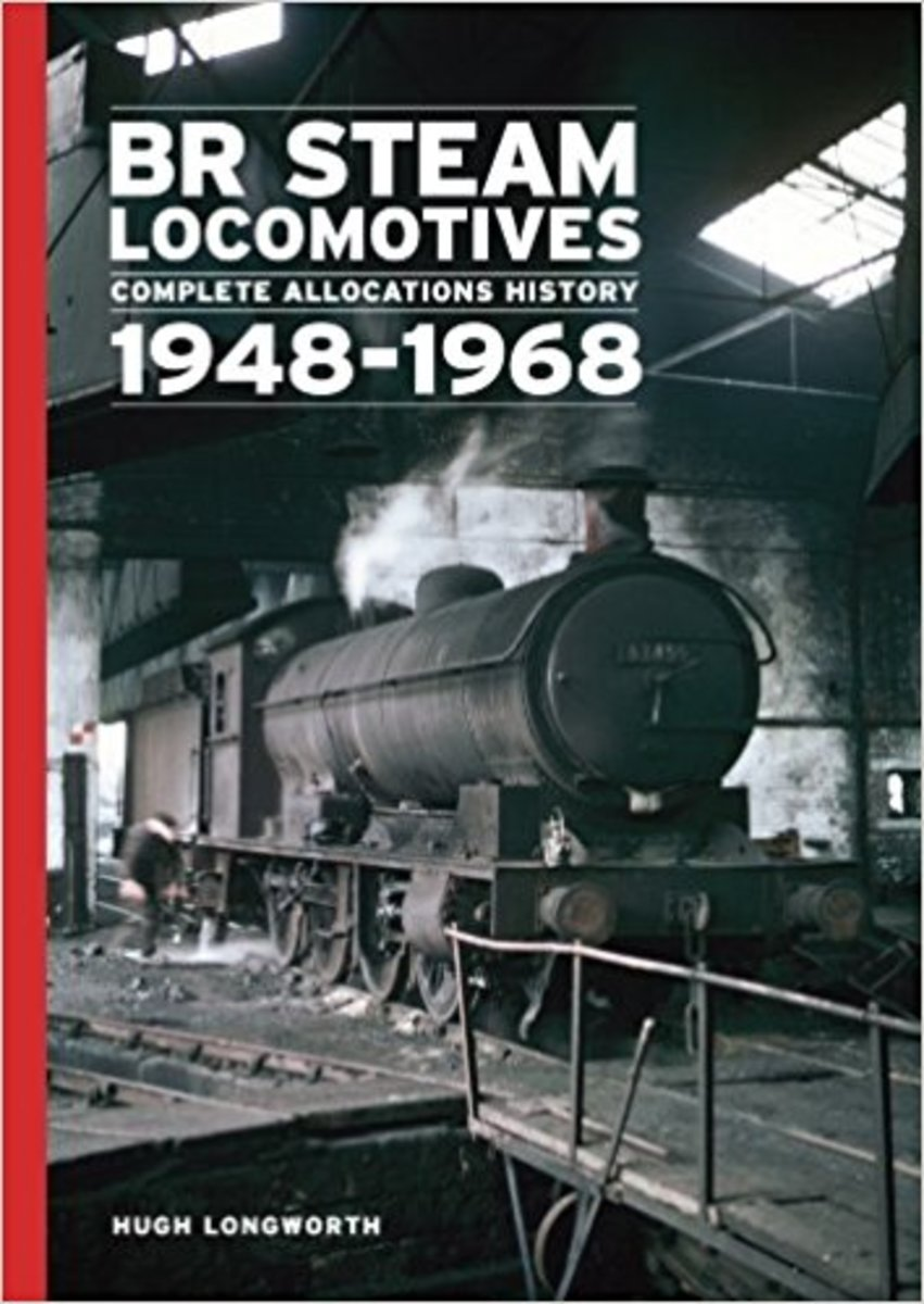 With a view of handsome ex-NER Raven Class T2, (LNER/BR[NE] Class Q6] on the cover, you can't go wrong. 1948-1968 allocations for mainland UK sheds with atmosphere! (Smell the creosote, axle grease and hot oil after a hard shift on the metals!)