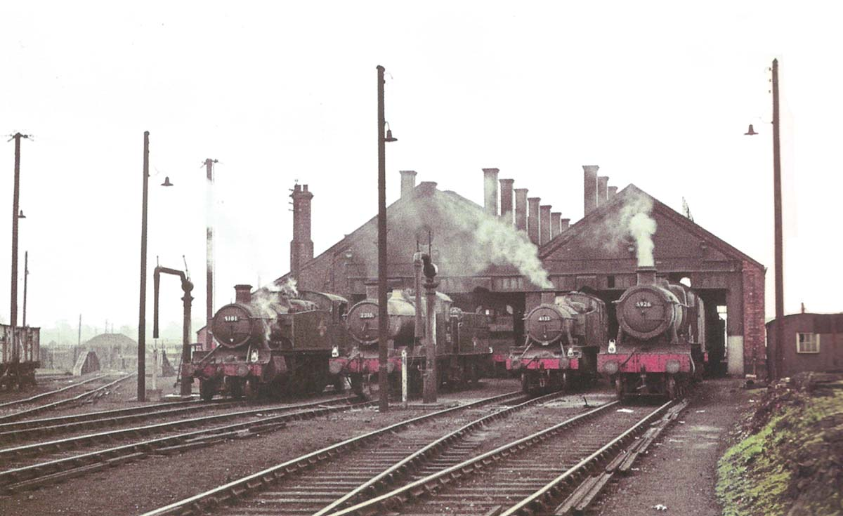 Leamington motive power depot-Great Western shed in the Midlands