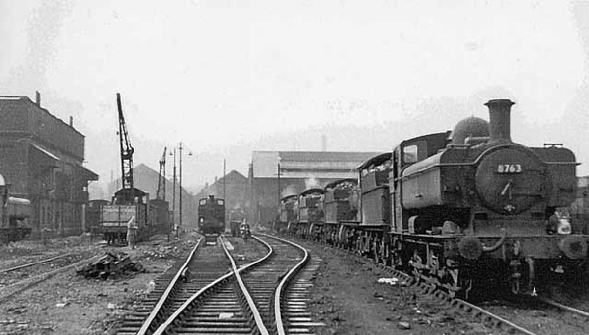 Old Oak Common shed in West London served Paddington's needs for GWR routes to Wales and the south-west as far as Cornwall