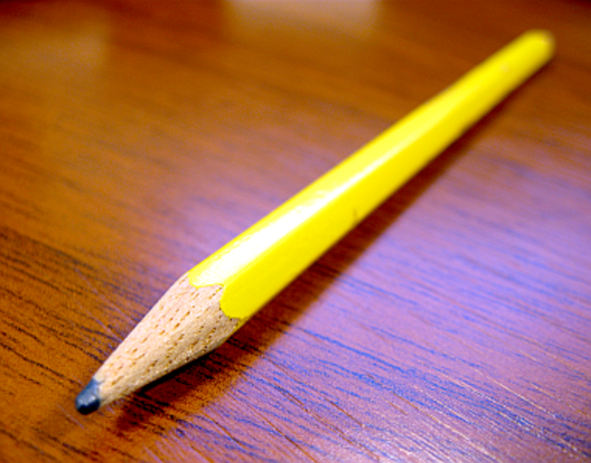 Use pencils to tighten prose in hard copies.